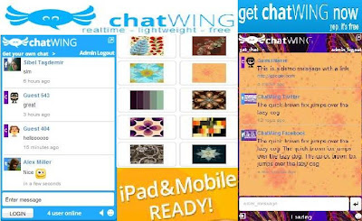 chatwing chatting plugin for sites