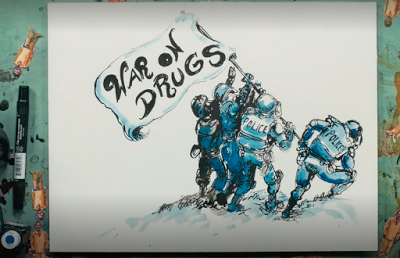 "Hip Hop Mogul Jay Z releases an Animated History of ""The War on Drugs"""