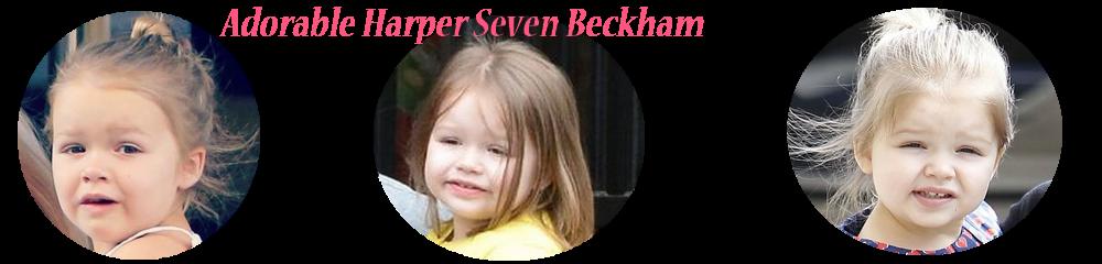 <center>Adorable Harper Seven Beckham</center>
