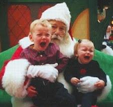Kinderschreck Weihnachtsmann (Bilderserie)