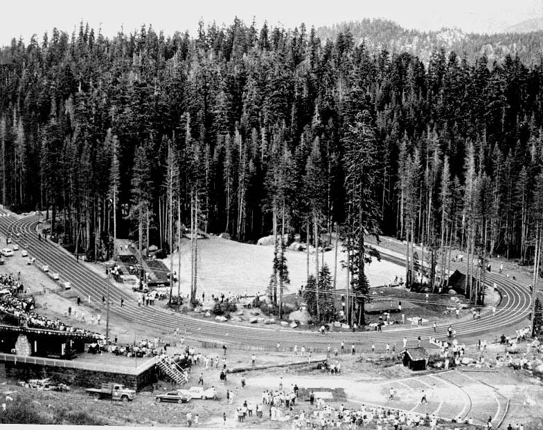 1968 Olympic Track on Echo Summit becomes Historical Landmark