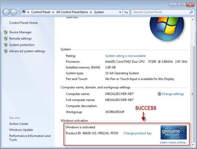Ключи для windows 7 бесплатно скачать