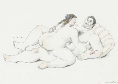 Bibujos Eroticos de Botero