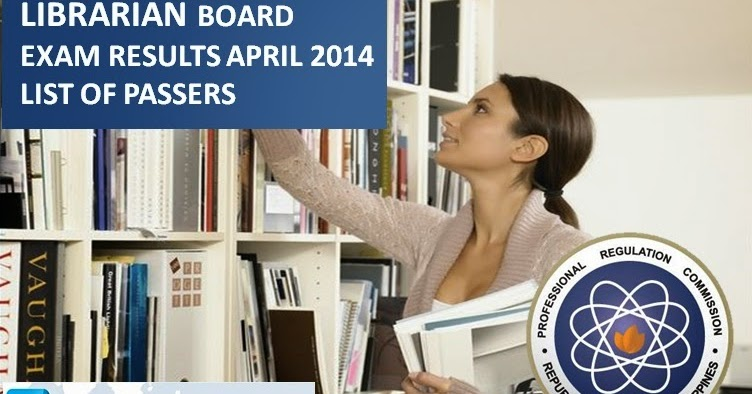 April 2014 Librarian Board Exam Results