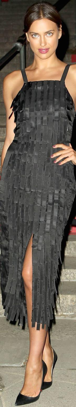 Irina Shayk 2015 Vanity Fair Party Tribeca NYC