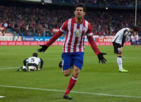 Diego Costa Atletico Madrid Transfer Arsenal 20132014