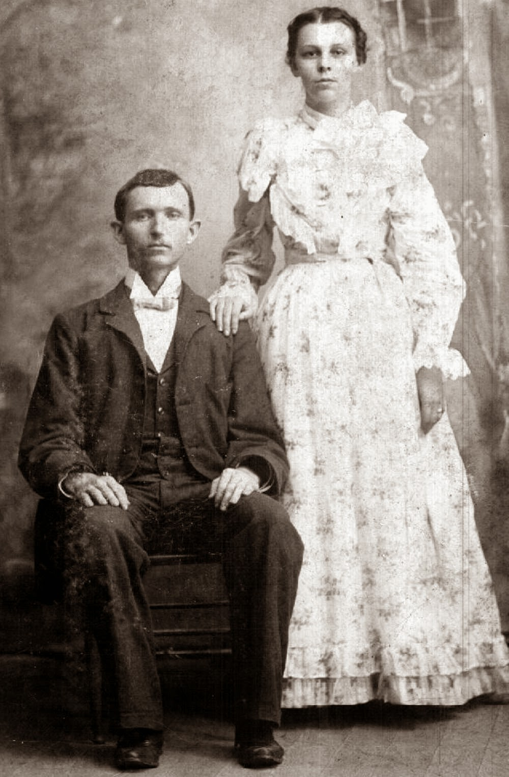 1897-Thomas B. Gray and Lelia Edenbeck