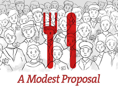 Specific Examples Of Satire In A Modest Proposal