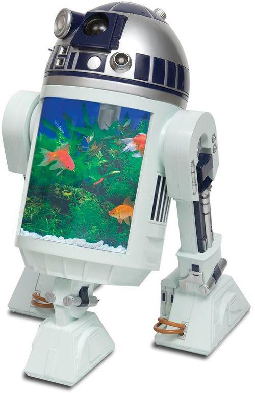 20 Akuarium Paling Unik dan Kreatif di Dunia : R2-D2 Aquarium