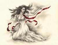 figurative drawings, woman drawing, figurative art