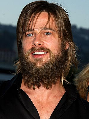 Hot Wallpaper: Brad Pitt Beard.
