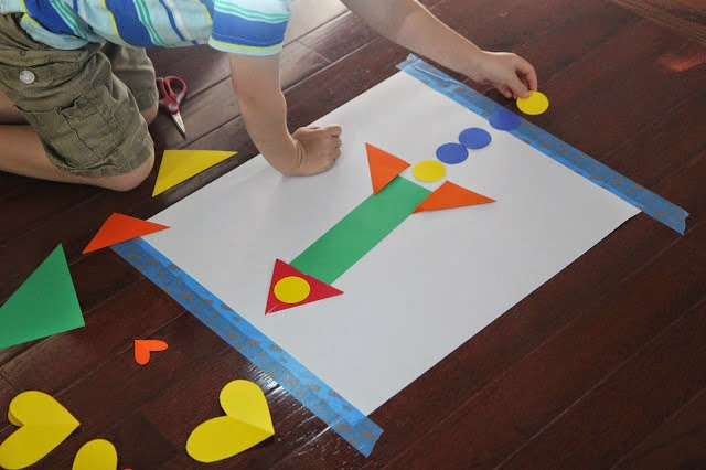 Toddler Approved 25 Shape Activities And Crafts For Kids