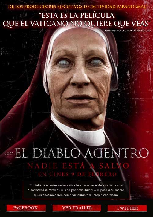 Con El Diablo Adentro (2012) [Latino] pelicula online gratis