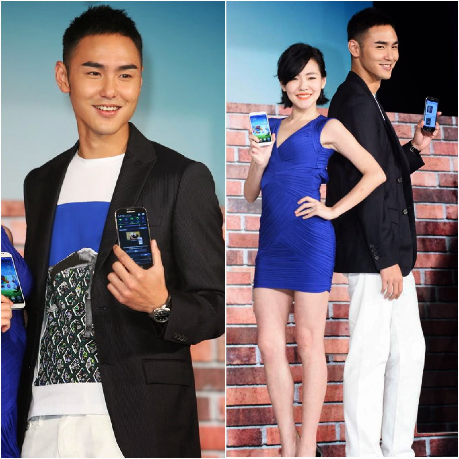 00O00 Menswear Blog: Ethan Ruan [] in Raf Simons - Samsung Galaxy Taiwan Promotions