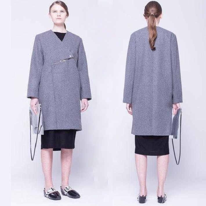 Princess Victoria Style - ANN-SOFIE BACK Zip Coat