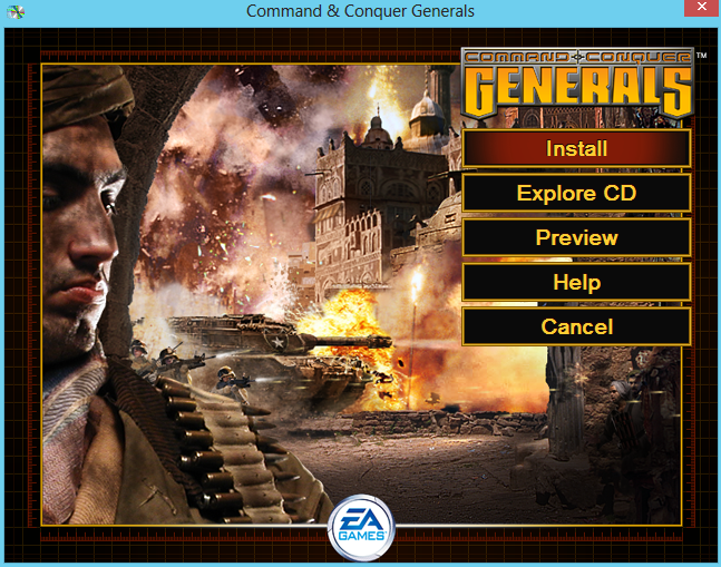 how to play command and conquaor gernerals on windows 7