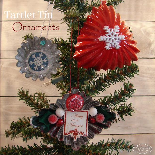 Tartlet Tin Ornaments