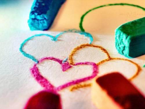 Love heart photography