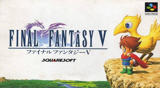 Final Fantasy V llegará a android e ios