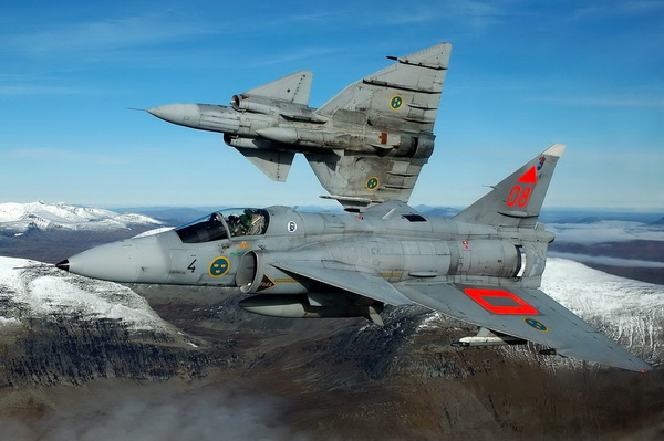 Saab 37 Viggen Multi-role Fighter Jet