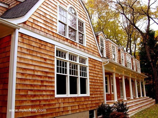 Siding exterior de madera