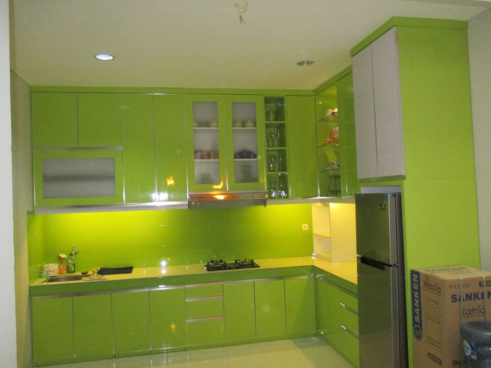 KItchen set mas Rahman jl aselih Lanata 2  Residance
