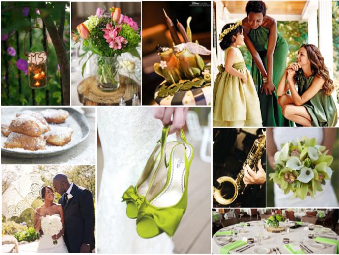 Princess and the Frog Wedding | Simply Inspirational.