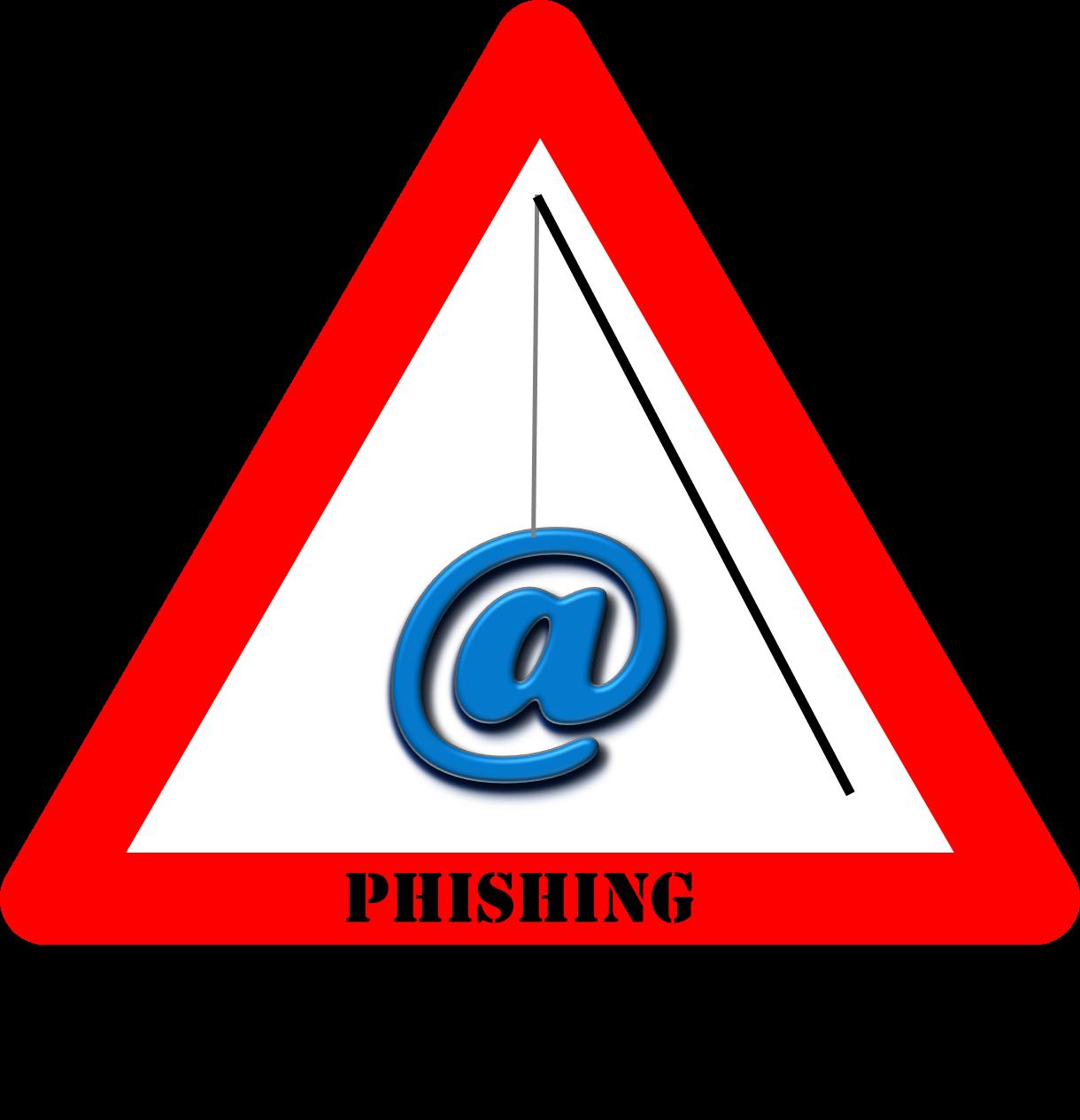 Warning Sign For Phishing