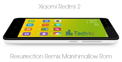 Resurrection Remix 5.6.0 Rom For Xiaomi Redmi 2 Based On Android Marshmallow
