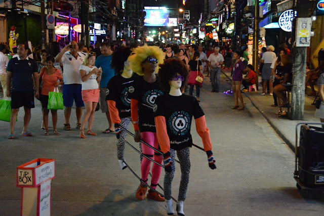 Bangla Road Patong funny puppets