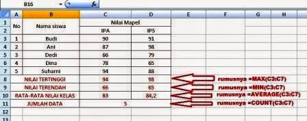 gamba rumus Excel