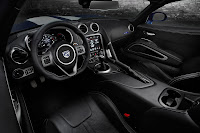 2013 Viper GTS Launch Edition interior