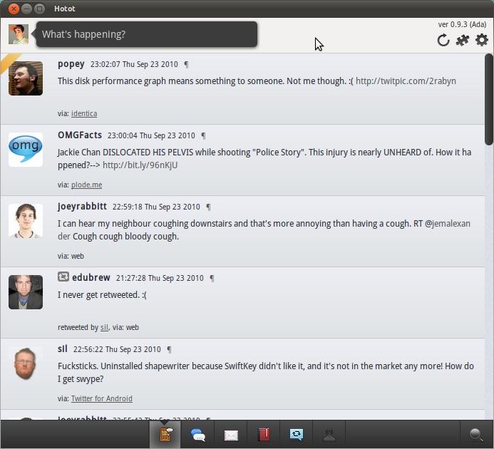 Twitter en Ubuntu, instalar twitter, ubuntu y las redes sociales