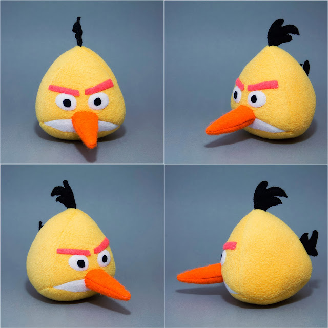Angry Birds желтый