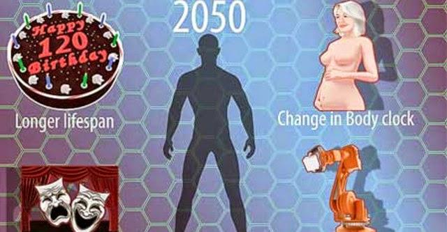 Con người sẽ tiến hóa thành dạng mới vào năm 2050?