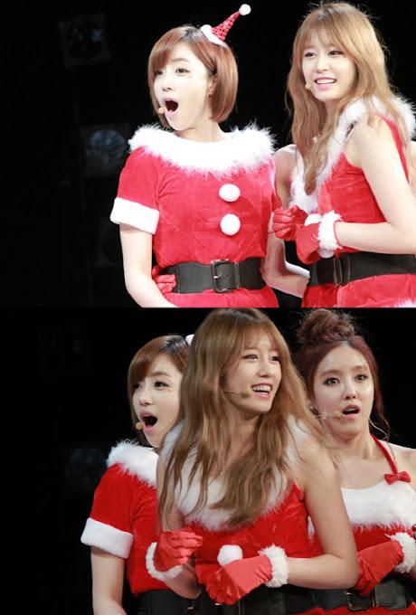 T-ara Jadi Sexy Santa di Jepang Pada Hari Natal