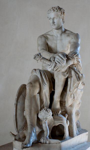 Dios De La Guerra E Hijo De Zeus Rey De Los Dioses Y De Su Esposa