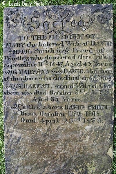 Headstone Smith Wortley Leeds
