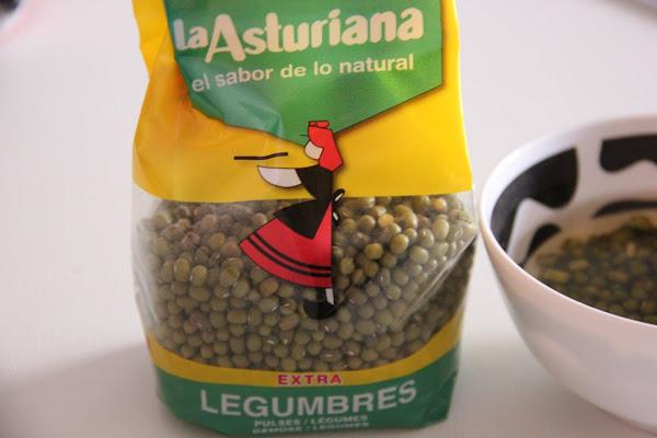 Semillas de soja para germinar en casa
