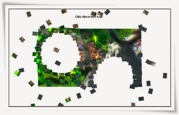 Blowing up HTML5 video and mapping