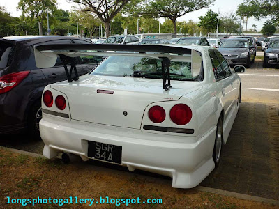Modified Nissan Skyline ER34