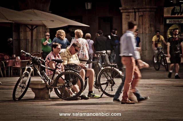 carril bici salamanca vía de la plata cicloturismo