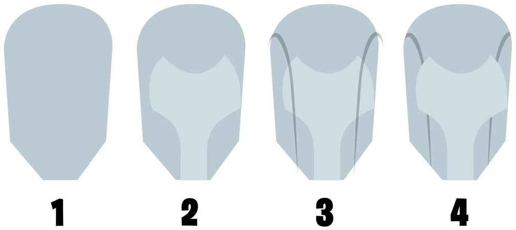 how to draw a cyberman step by step