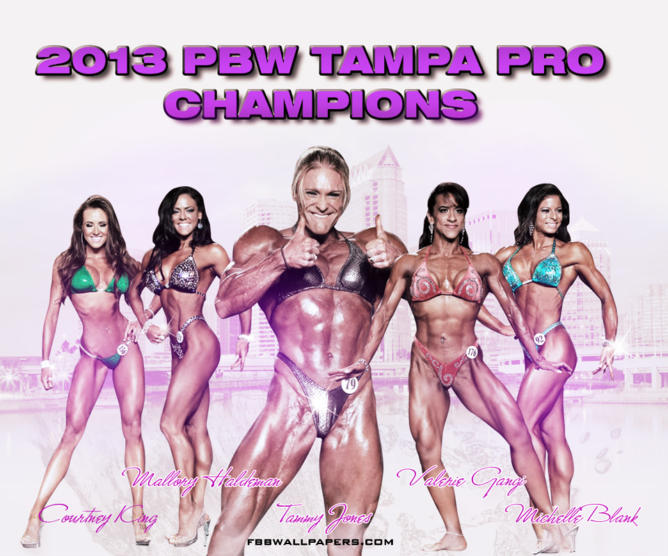 2013 PBW Tampa Pro Women Champions Android Wallpaper