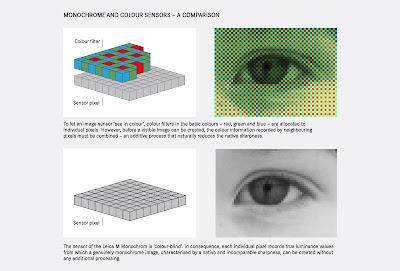 Caratteristiche del sensore della Leica M Monchrom