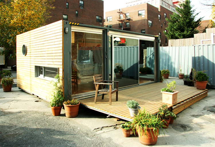 Shipping container homes meka west village container home - Meka container homes ...