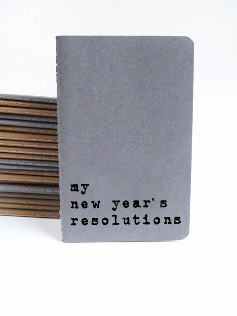 my new year's resolutions notebook by Alfamarama