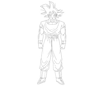 #7 Dragon Ball Coloring Page