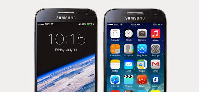 Cara Membuat Tampilan Android Jadi Keren Seperti Apple Iphone