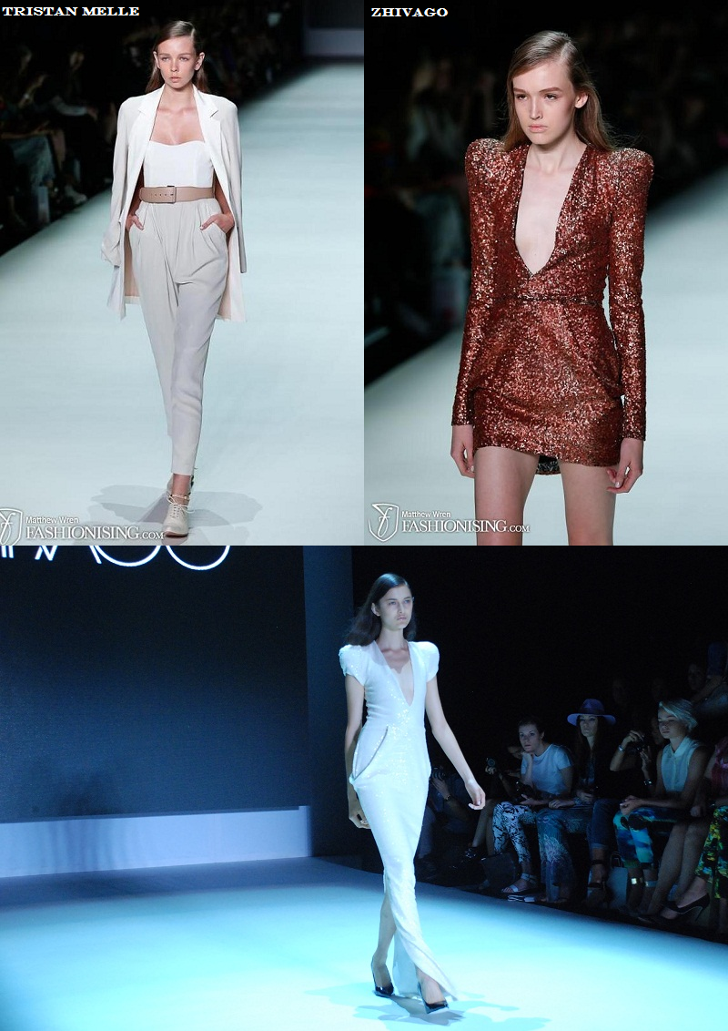 MBFWA, New Generation, Zhivago, Tristan Melle, SS 2013/14, runway, tailoring, suits
